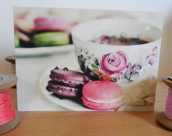 Carte postale thé