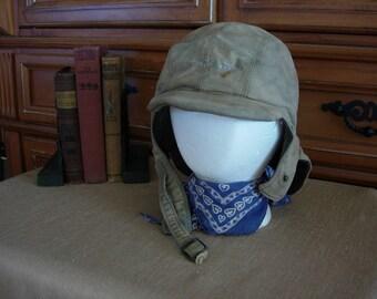 WWII US Navy Deck Hat Cap