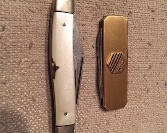 Pair of Vintage Japanese Pocket Knives