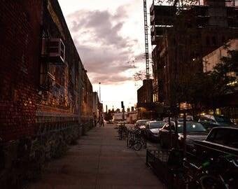 Brooklyn NYC Street Cityscape