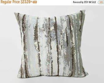 20%off Turquoise Pillow, IKAT Aqua Pillow, Turquoise Bed Pillow, IKAT Turquoise Decorative Pillow, Turquoise  Couch Pillow, Aqua Decorative