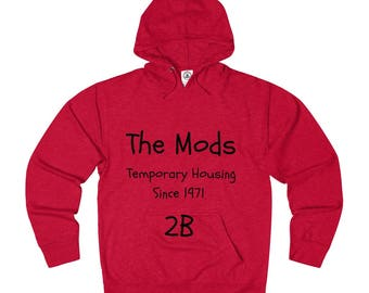 BC The Mods French Terry Hoodie Sweatshirt For Men  Women