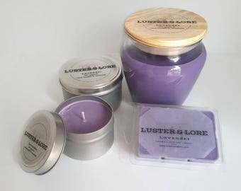 Lavender- Natural Soy Candle
