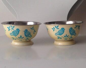 Blue Bird Stainless Steel Pedestal Pet Bowls