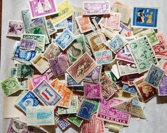 Vintage postage stamp lot 3