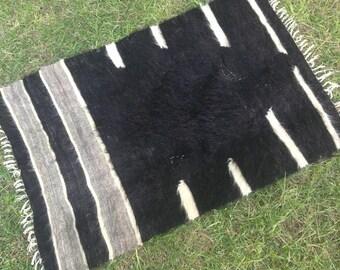 Turkish Rug - Kilim Rug - Area Rug - Handmade Rug - Vintage Rug - Rug - Naturel Anatolian Rug - Decorative Rug//93 cm x 60 cm = 3 ft x 2 ft