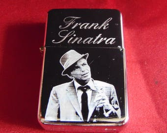 Frank Sinatra Engraved Fuel STAR Lighter With Gift Box - FREE ENGRAVING