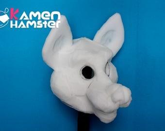 Fursuit Canine / Wolf / Dog Head Base Foam - Commission