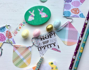Easter Fabric Washi Tape