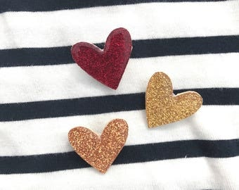 """My little heart Trio"" brooch"