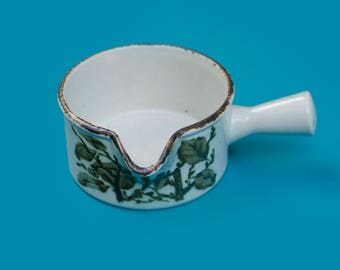 Midwinter Stonehenge 'Green Leaves' Jug/Gravy Boat