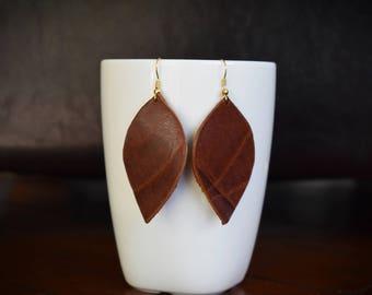 Montana Hide Earrings
