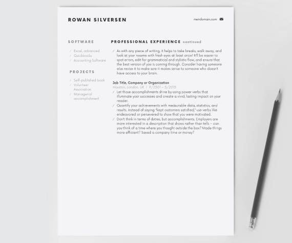 Resume Cover Letter Example Template Pdf Resume Template Modern Resume Resume For Word Cv Template Resume Worksheets Excel with Football Coach Resume Word Resume Template Modern Resume Resume For Word Cv Template Cover Letter  Resume Instant Download Minimalist Professional Resume Design College Intern Resume Word