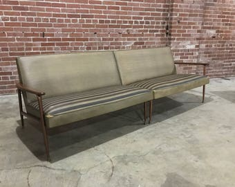 Viko Wood Arm Two Piece Sectional