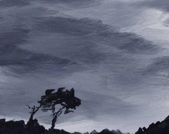 Clouds #1 art print 11x14