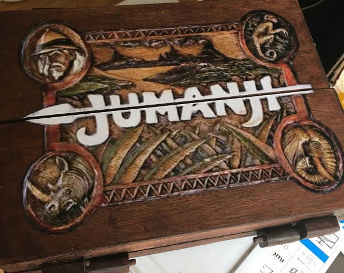 Featured listing image: Jumanji Inspired Wooden Board Game 1:1 scale