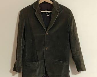 Vintage Mens Corduroy Coat