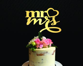 Mr and Mrs cake Topper,Engagement Cake Topper, Married Cake Topper,New Wedding Cake Topper,Wedding Party Decorations,Wedding Topper