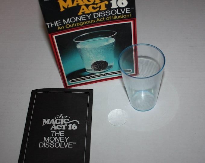 Magic Act 16 The Money Dissolve Reiss Games 1975 Vintage RARE