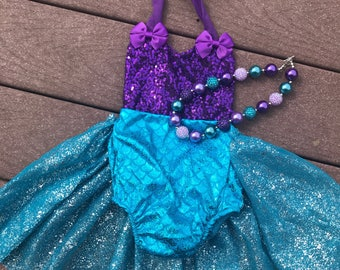Baby mermaid outfit 1st birthday mermaid outfit mermaid birthday outfit mermaid first birthday  girls mer