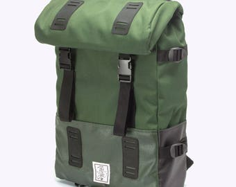 SALE!  Backpack, City Backpack, City Travel Backpack, Man Backpack, Nylon backpack, Vintage style, Hipster Backpack, Casual, WRBL Backpack