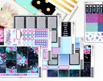 Northern Lights A LA CARTE   for use with Erin Condren Lifeplanner™, Filofax, Personal, A5, Happy Planner