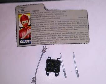 Vintage GI Joe Action Figure Jinx Accessories ***1980's-Early 1990's****** Check Out My other Listings