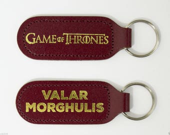 Game of Thrones Valar Morghulis Keyring - Jaqen H'ghar