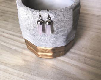 Rock Crystal Earrings
