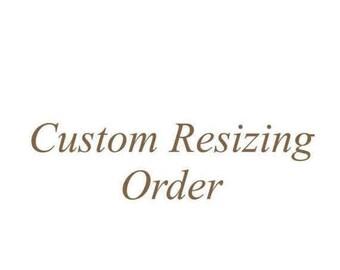 Christmas in July SALE Custom Resizing Order