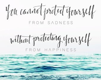 Happiness Wall Print