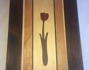 Tulip Cutting Board Serving Tray
