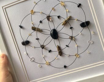 Protection & Grounding Crystal Grid
