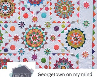Georgetown on my Mind quilt pattern from Jen Kingwell Designs
