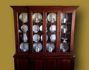 Bob Timberlake Lexington Furniture Library China Cabinet Hutch