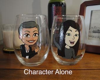 Bitmoji Wine/Beer Glass
