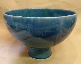 Lamorna Pottery Bowl, Large Fruit Bowl