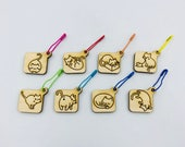 Cat or Dog stitch markers