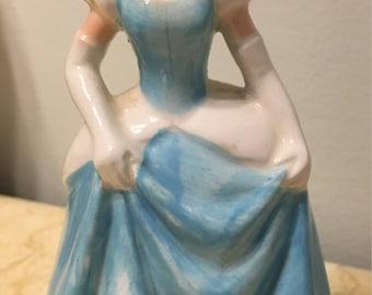 Vintage Porcelain Disney Cinderella Figure