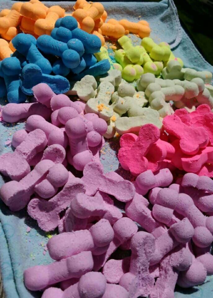 Bag Of Dicks Bath Bombs Novelty Bath Bombs Gag Gift