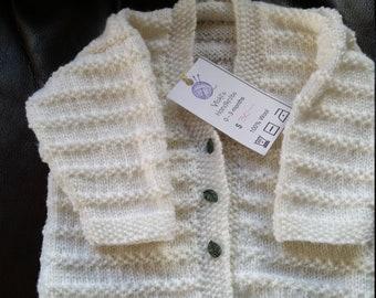 Newborn Jumper 100% Wool