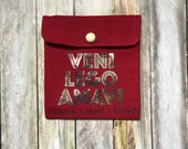 Reading Quote Pouch- Smal...