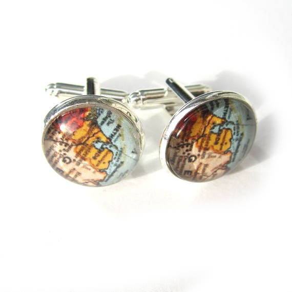 Map cufflinks - The Netherlands