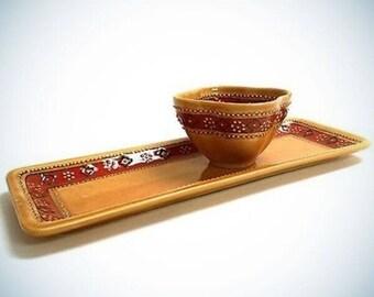 Handcrafted Ceramic Appetizer Set