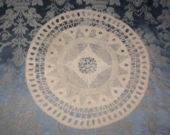 old lace doily
