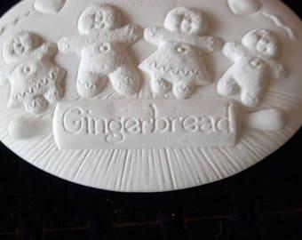 Clay gingerbread ceramic casting