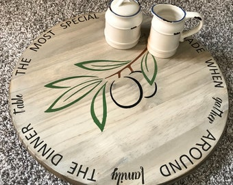 The Most Special Memories Lazy Susan