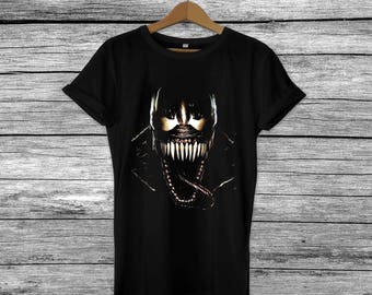 Venom - Marvel Film Inspired Fan Gift Graphic Printed top T-Shirt