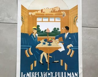 "Vintage French Poster for ""Pullman"" Train 1701186"