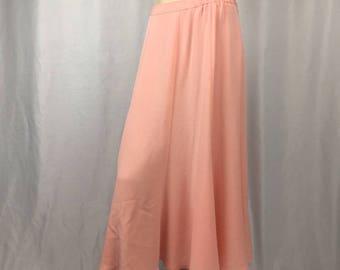 Delicate Vintage Petal Pink Skirt